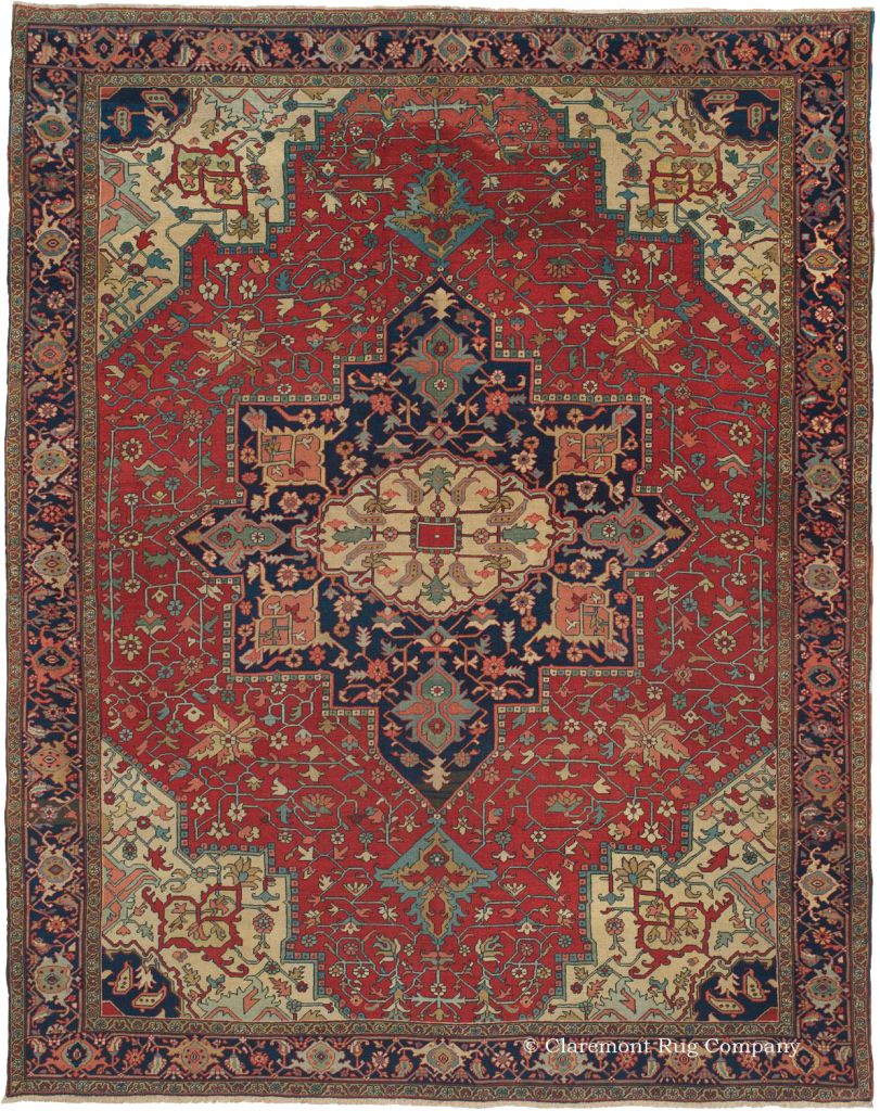 Click To Learn More About This Elegant Serapi Rug
