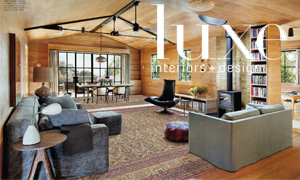 Contemporary Home With Antique Rugs From. Claremont Rug Company
